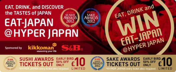 Eat Japan @ Hyper Japan 2012