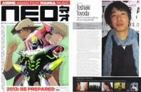 NEO issue #106 Toshiaki Toyoda profile