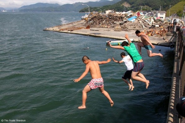"""""""Jumping to the sea"""""""