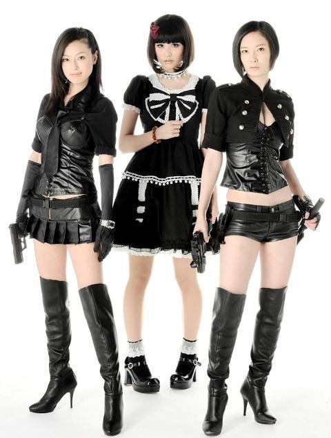 Travelers: Police Dimension Kinoshita (L), Takayama (M), Nagasawa (R)