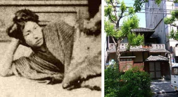 Sukegoro Miyagawa and the site of his former residence