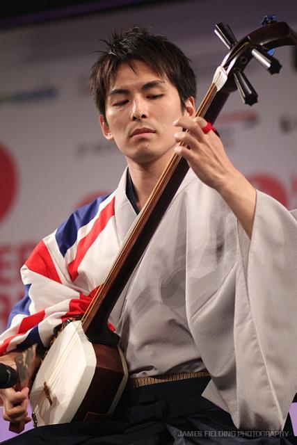 Shamisen player Hibiki Ichikawa