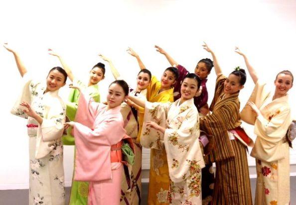 Sakura cast at Rambert