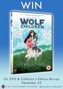 Wolf Children DVD