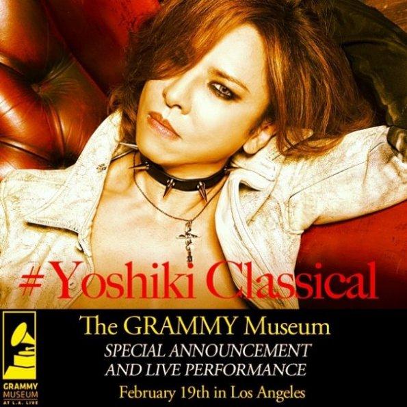 Yoshiki - Grammy Museum