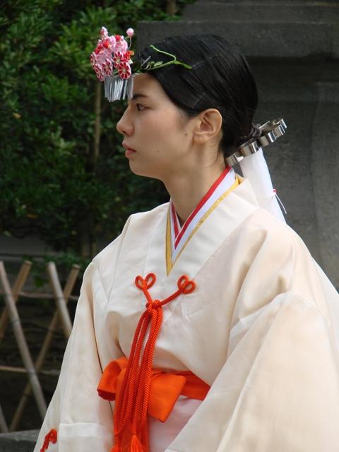 Shinto Priestess