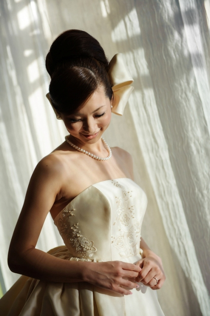 Western-Style Wedding Dress - Japanese wedding