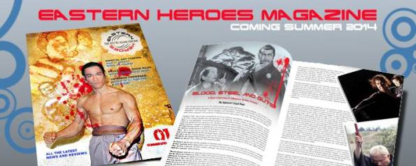 Eastern Heroes magazine re-launch at Seni 2014