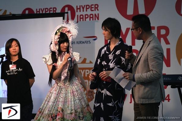 Hyper Vocaloid Yuzuki Yukari, EHAMIC & Ishiguro Chihiro