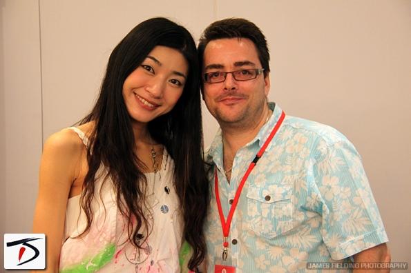 Spencer Lloyd Peet with Mayuko interview Hyper Japan 2014