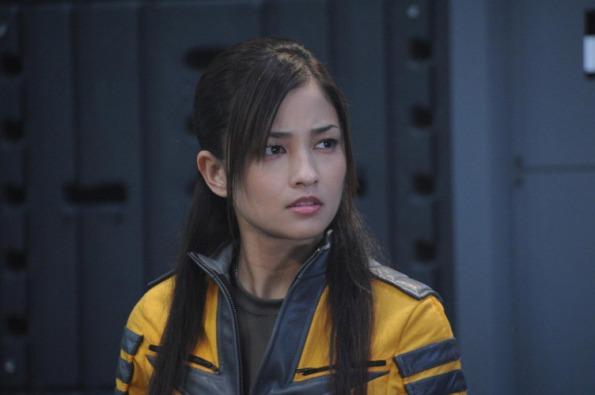 Actress Meisa Kuroki, seen here in Space Battle Yamato, will attend the premiere of Rurouni Kenshin: Kyoto Inferno at LA EigaFest 2014