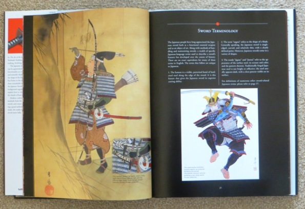 Paintings of Japanese warriors