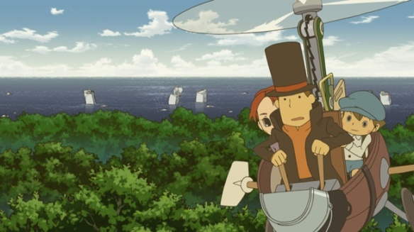 Dvd Blu Ray Review Professor Layton And The Eternal Diva