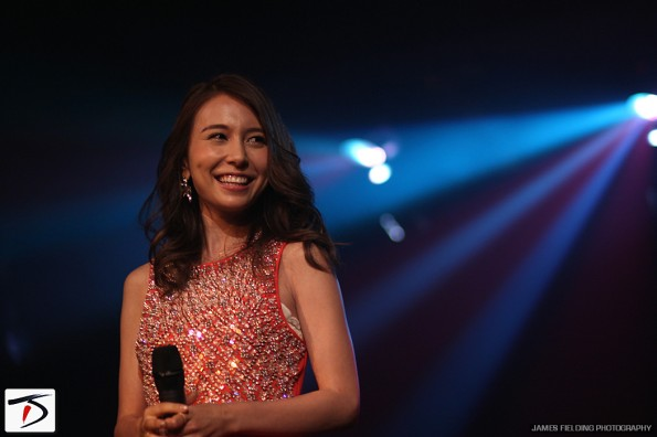 Singer and J-MELO host May J