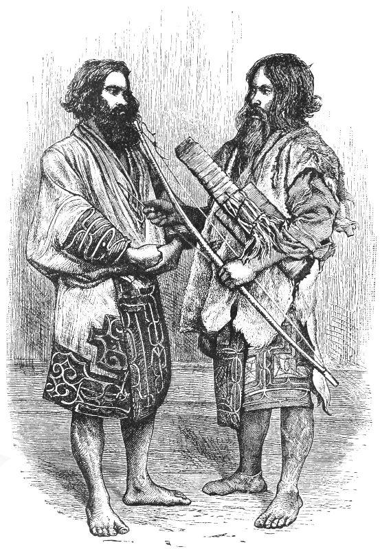 Ainos of Yezo