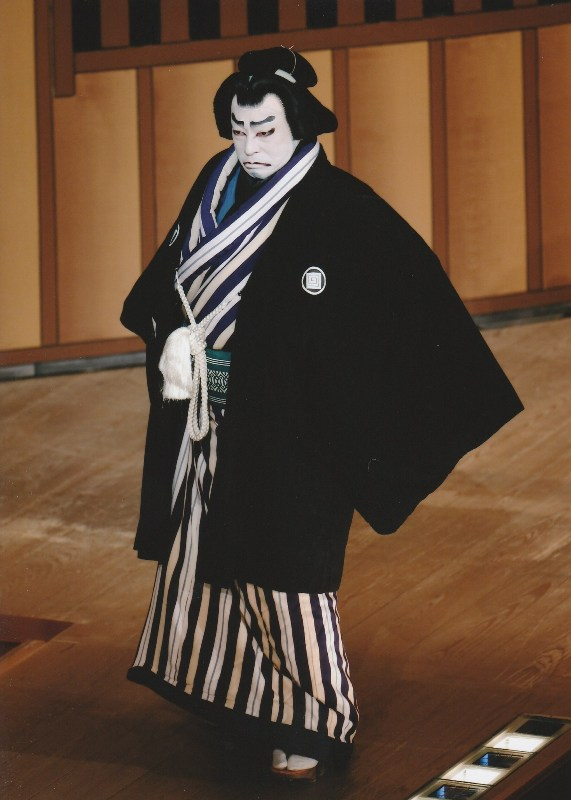 ichikawa chusha as the sumo ikazuchi in kozuke mochi kabukiza dec 2018 resize