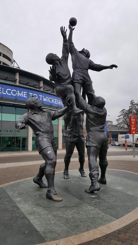 Twickenham Rugby Stadium Copyright T Skingle