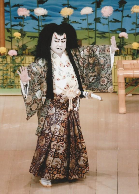 Nakamura Ganjiro as Kasahara Tankai in Kikubatake