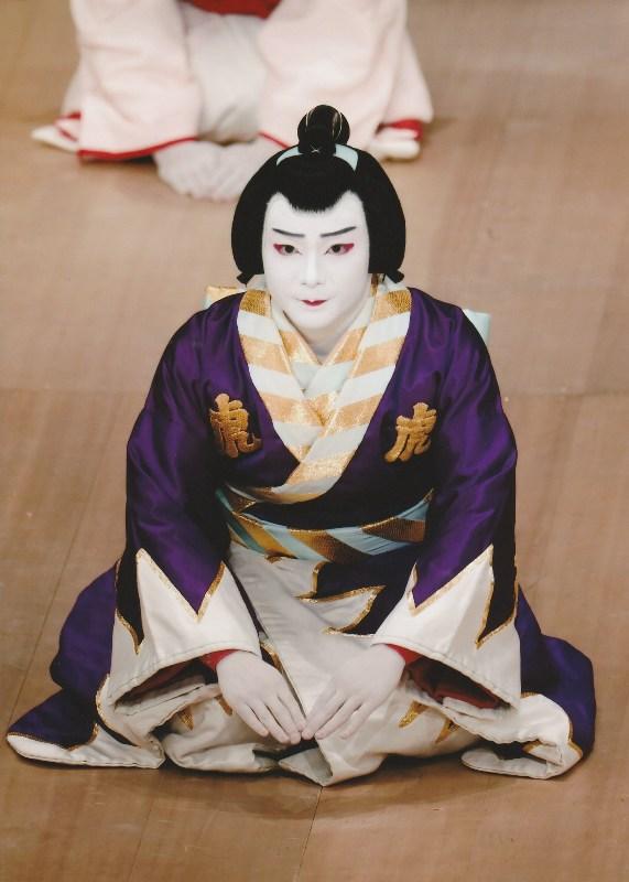 Nakamura Umemaru shumei to Nakamura Kangyoku playing Torazo in Kikubatake